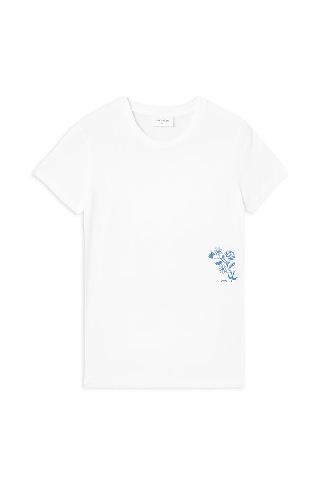 Eden t-shirt 11912501-2434, BRIGHT WHITE