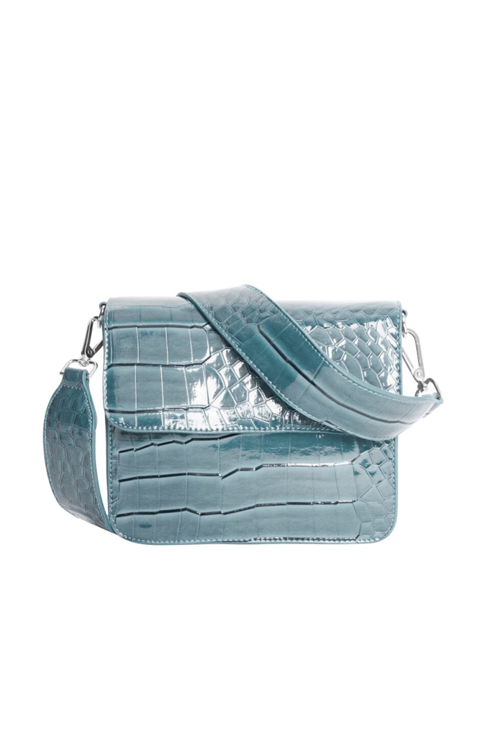 Cayman shiny strap bag H1021, BABY BLUE
