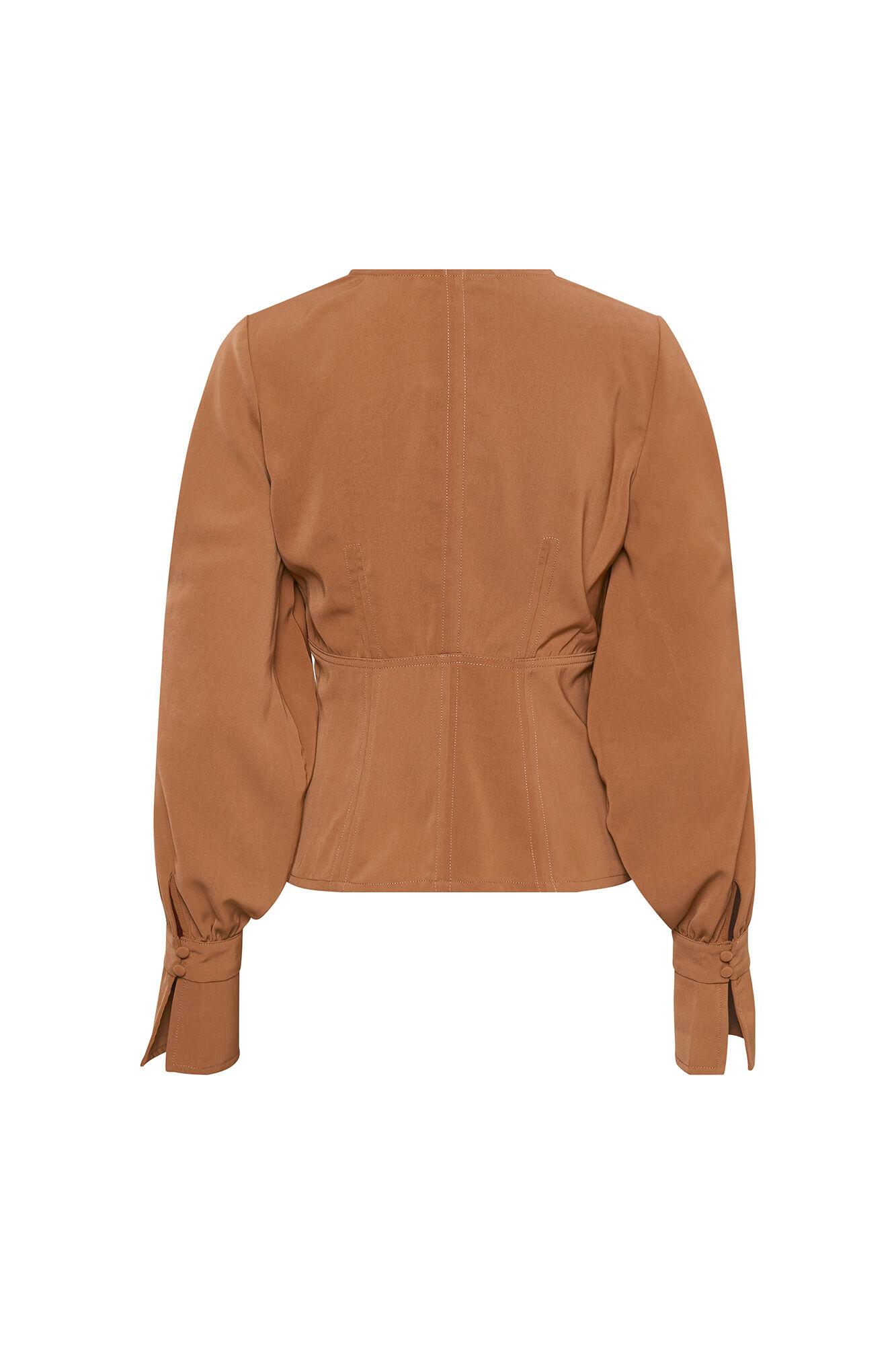 Rubina Shirt 10903057, RUSSET