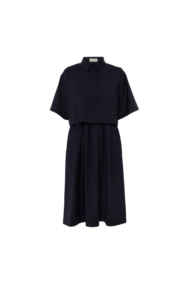 Bonnie dress 11861277, NAVY