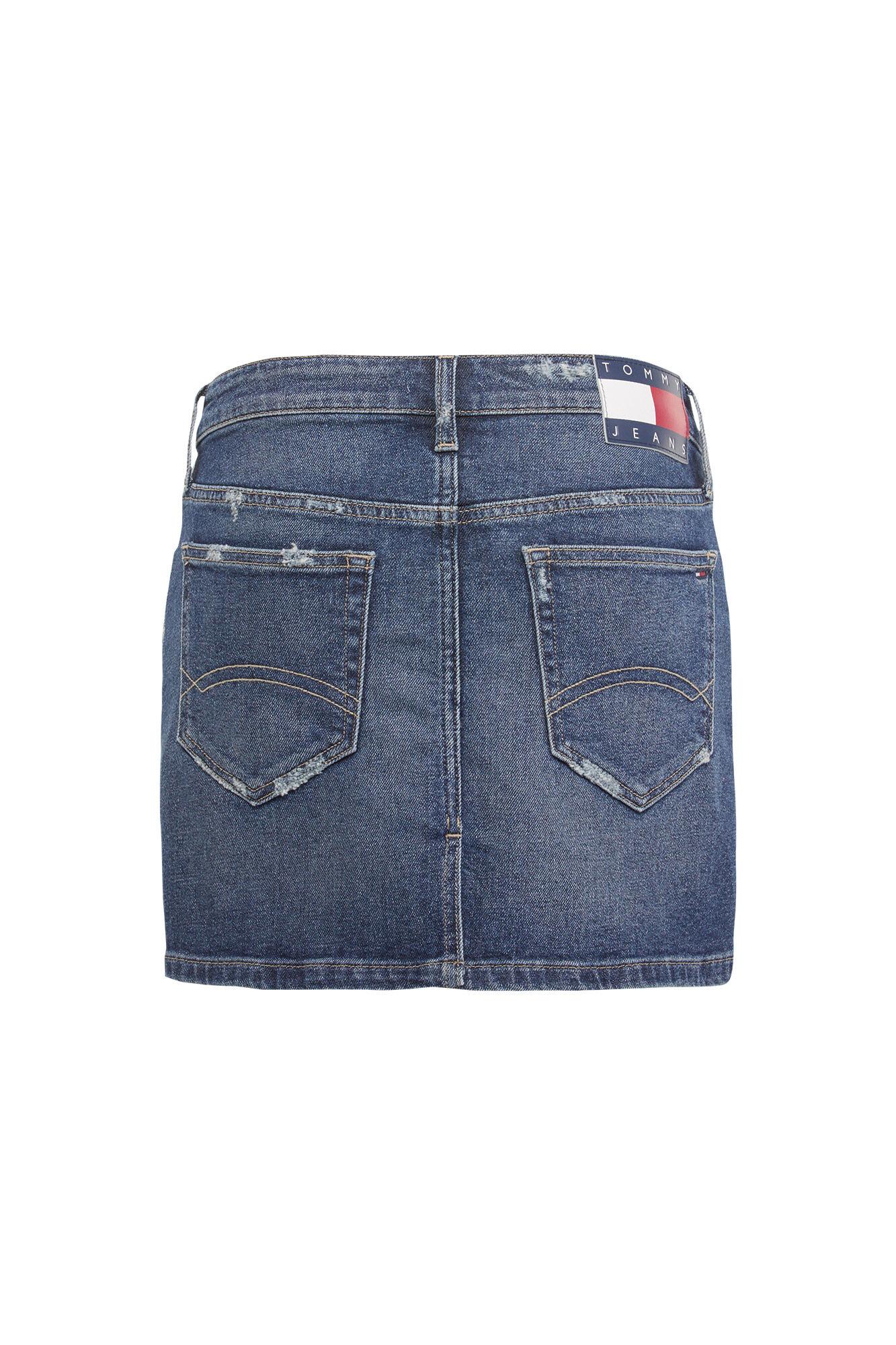 Regular Denim Skirt DW0DW06482, CALI MID BL COM