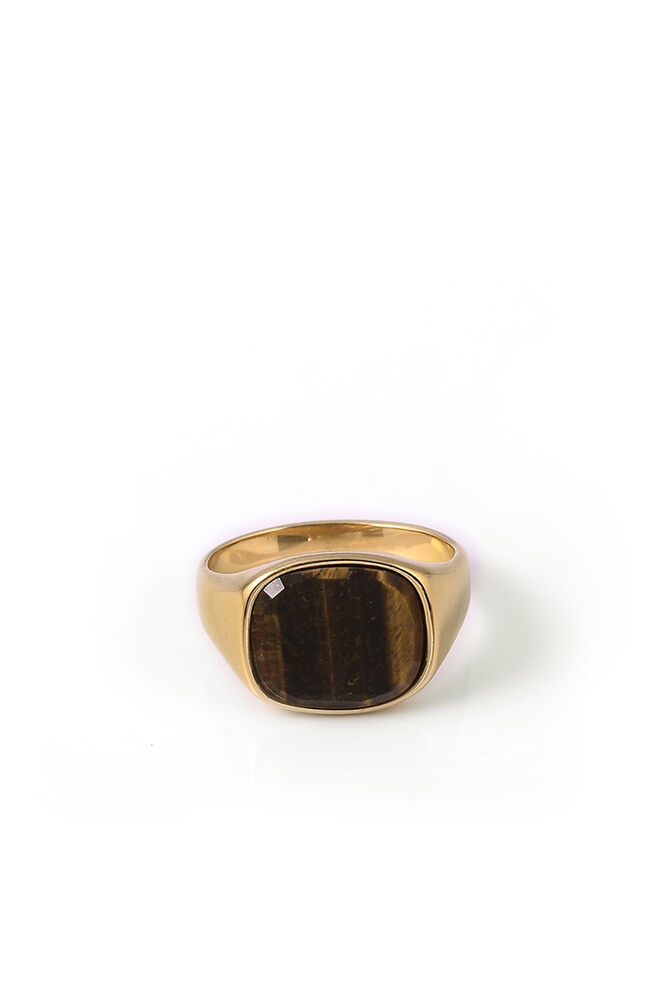 Himsel, GOLD - SQUARE TIGER EYE STONE
