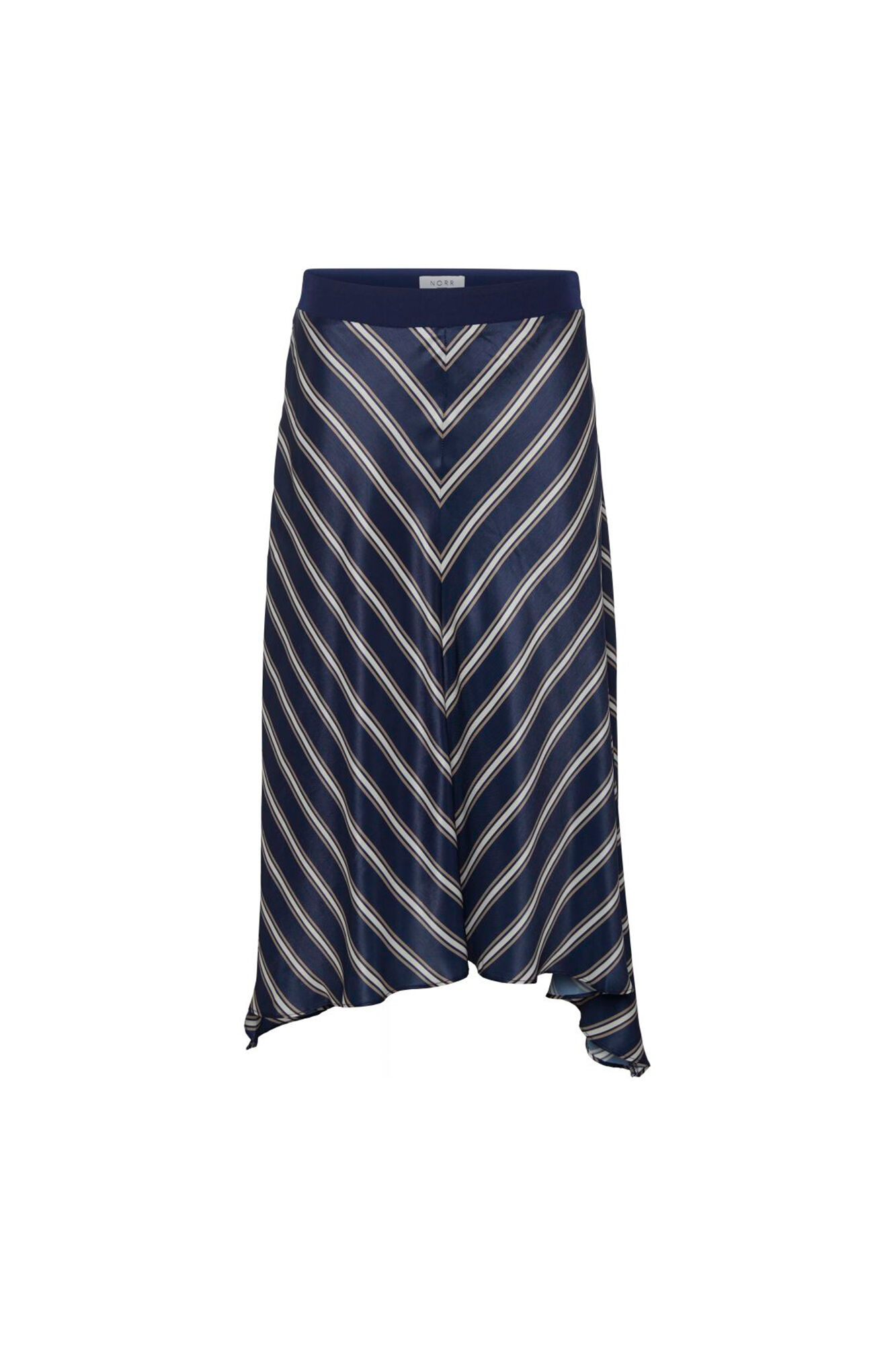Bobbi Skirt 11861204, NAVY STRIPE