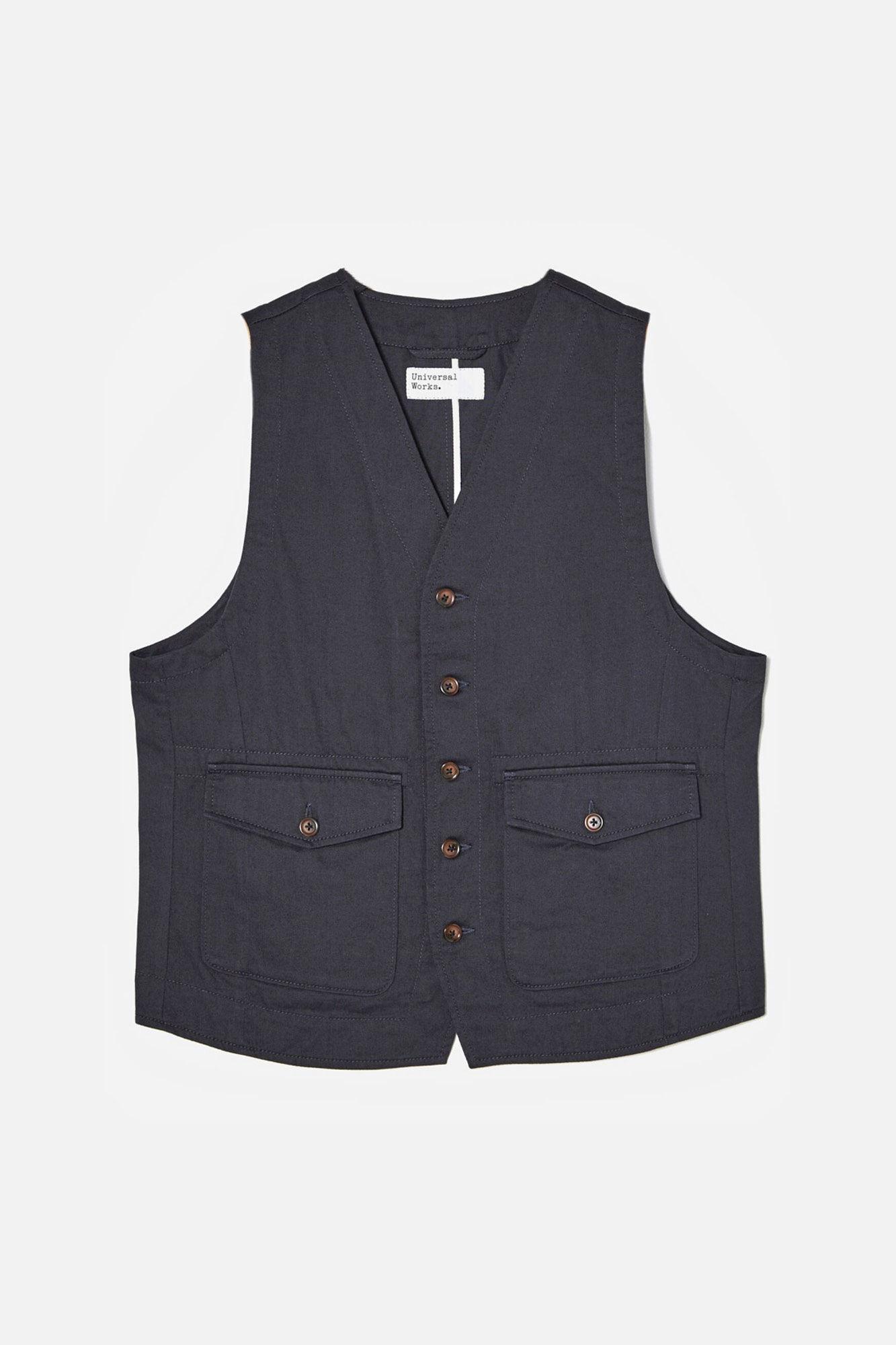 Field waistcoat 00180, NAVY