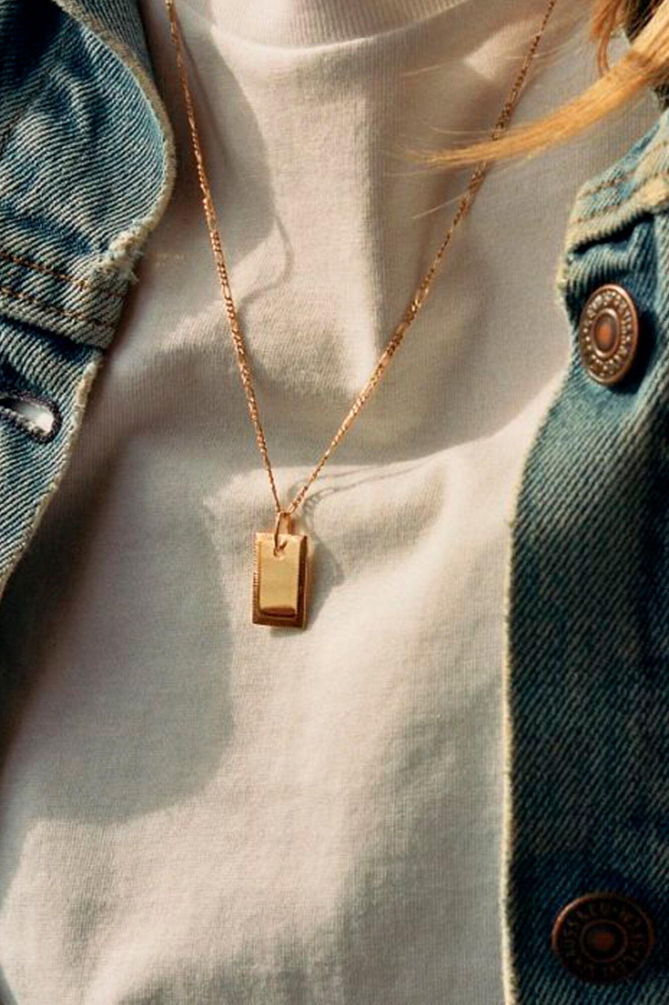 Eliza Necklace 300326, GOLD HP