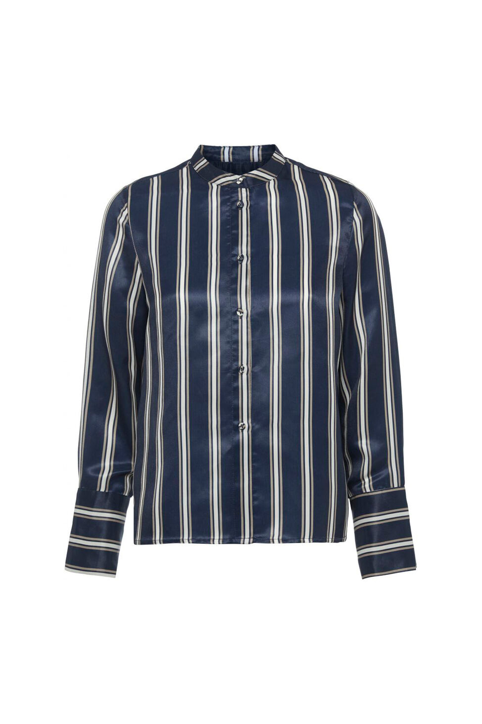 Bobbi Shirt 11861111, NAVY STRIPE