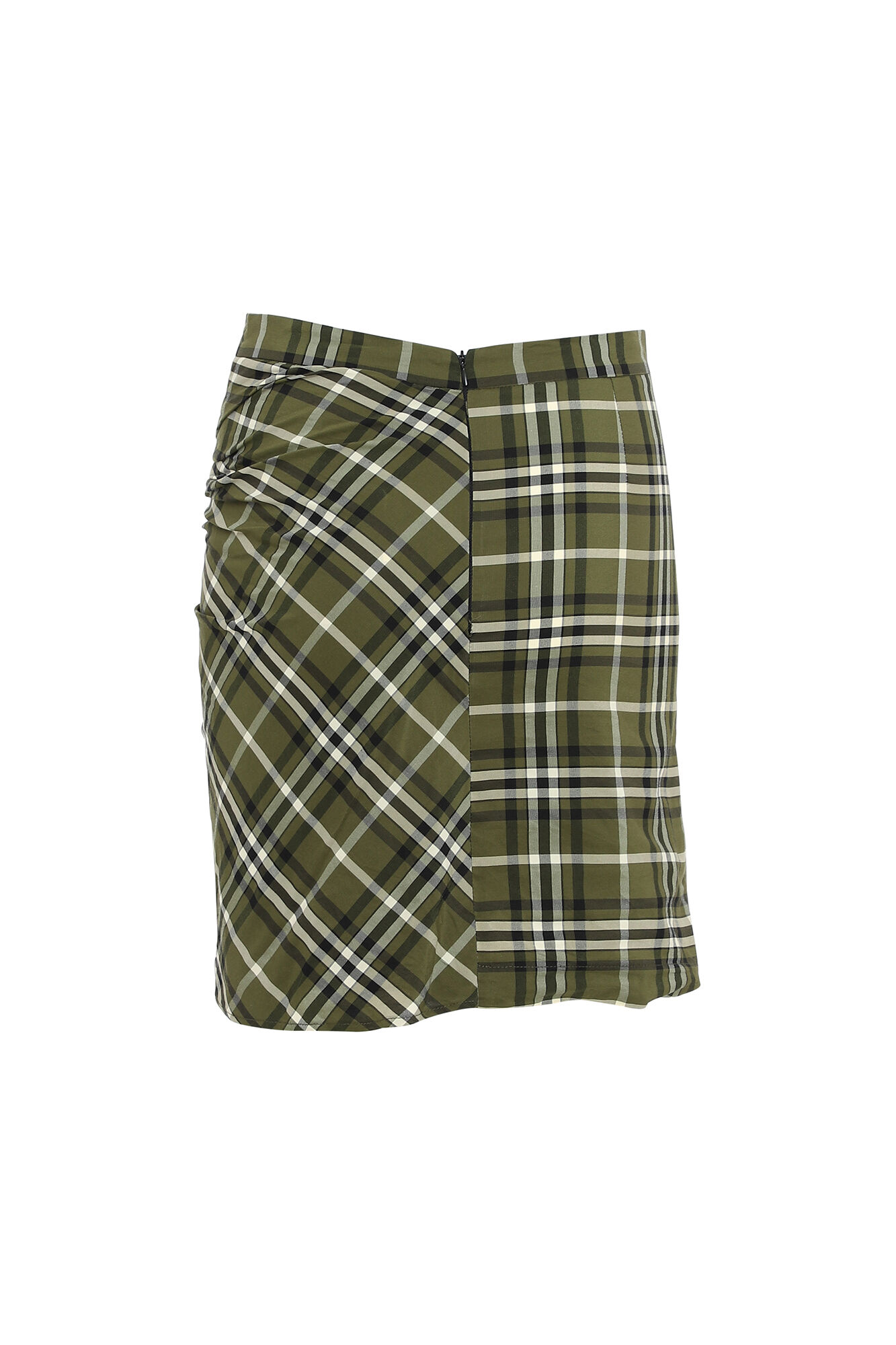 Mina Skirt 3185580, GREEN CHECKS