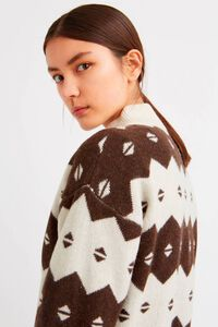 Sonia sweater 11931015-4137, OFF-WHITE JACQUARD