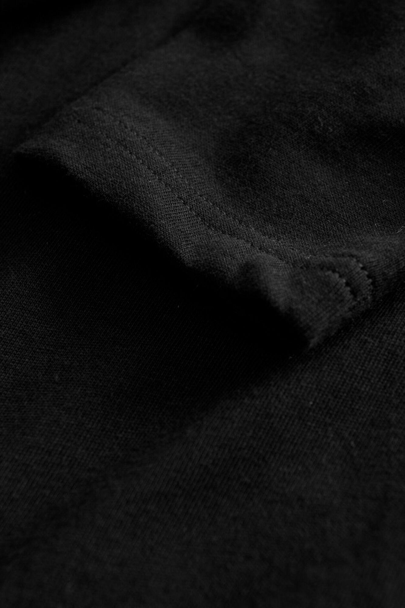 Mel long sleeve, BLACK
