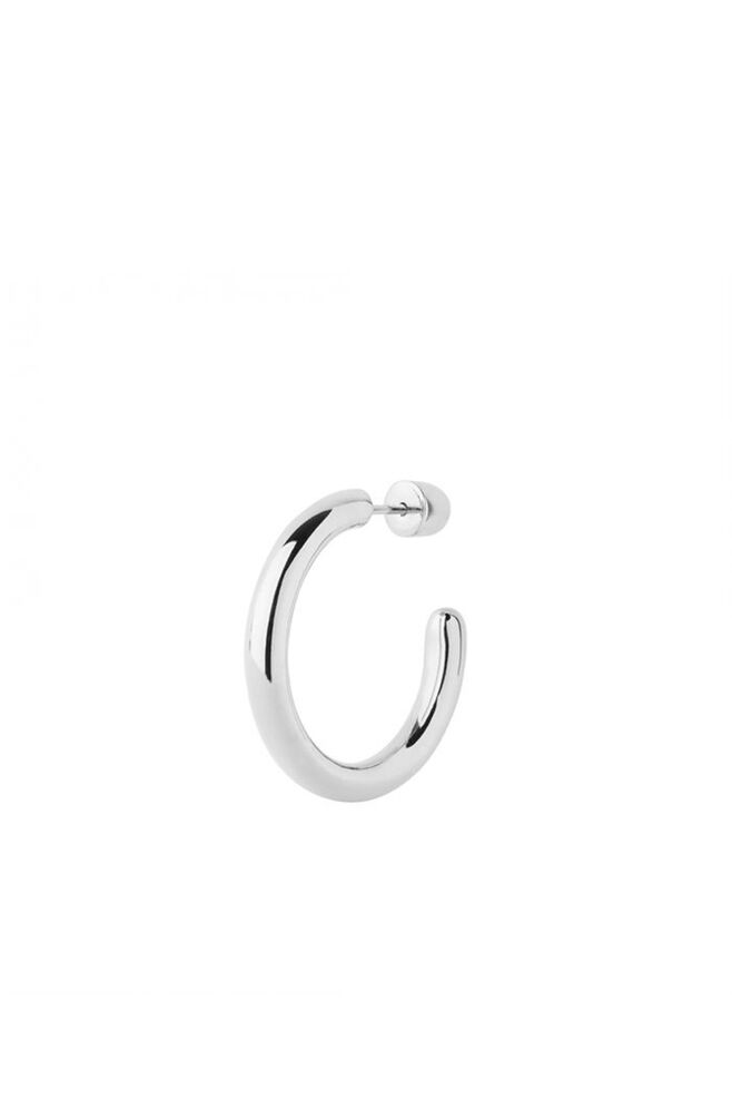 Ruby 28 Hoop Earring 100637, SILVER HP