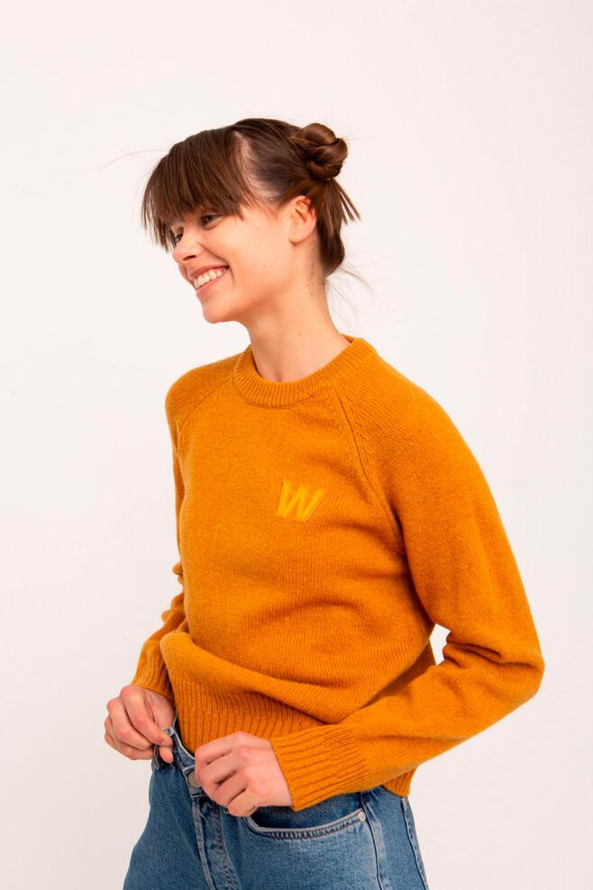 Asta sweater 11931001-4033, MUSTARD