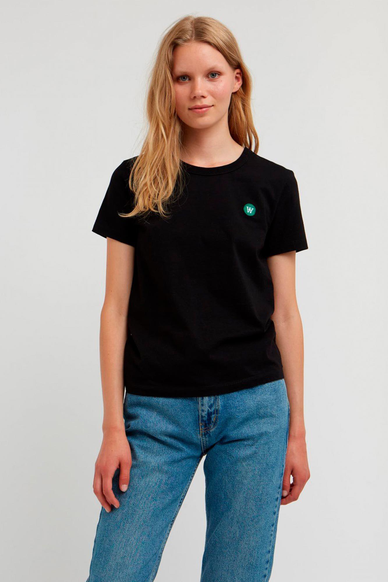 Uma T-shirt 10002500-2222, BLACK