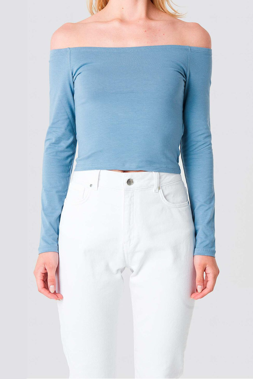 Cropped Off 1100-000847, LIGHT BLUE