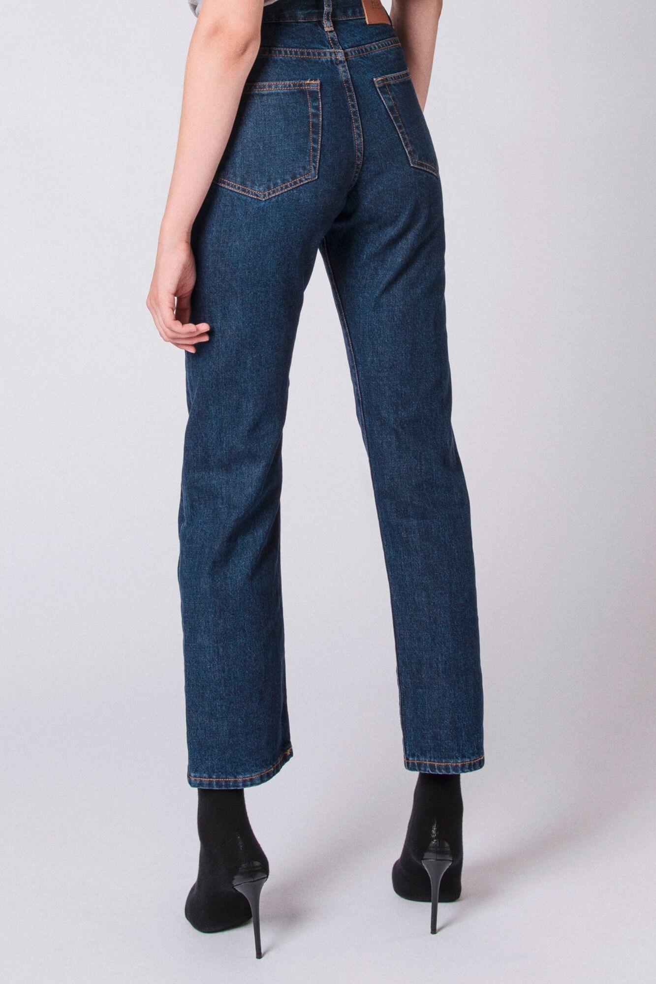 Boyfriend Jeans F-90058-11, MEDIUM BLUE