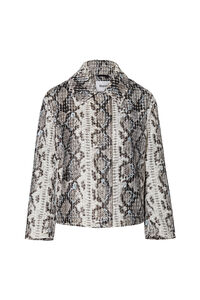 Marthe Jacket Faux 60626-8700, OFF WHITE