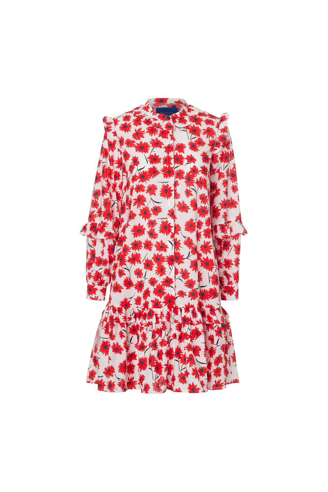Nanette dress 05780350, WHITE