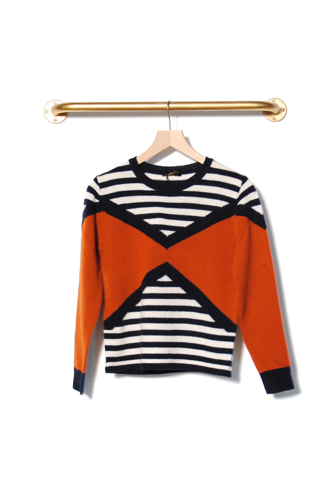 Stripes Lambswool 2766, SPICE