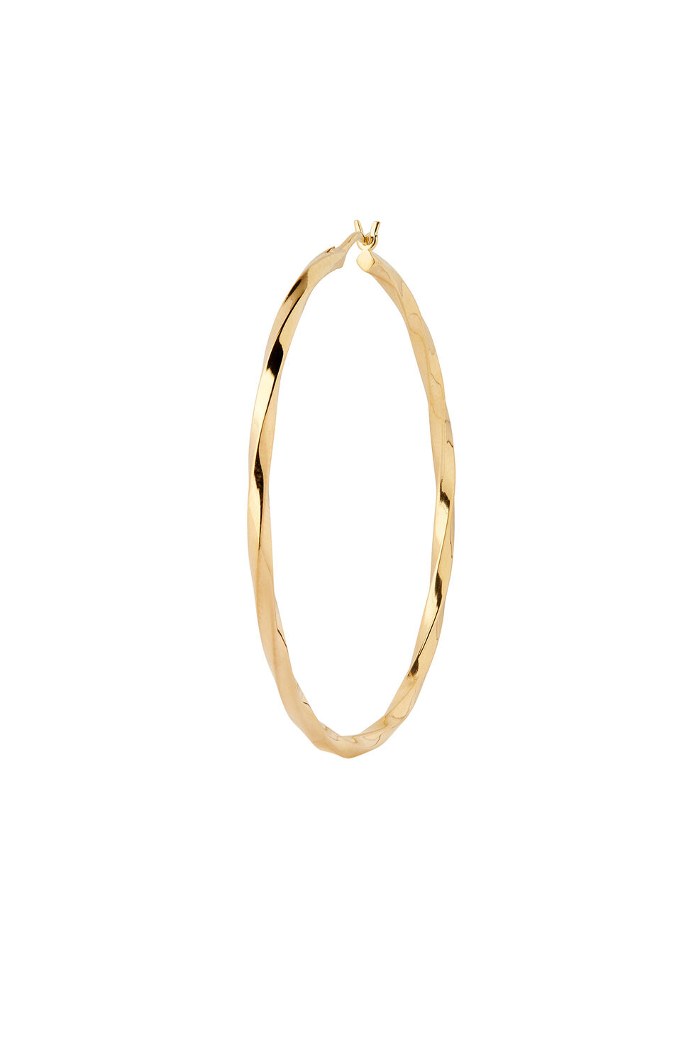 Francisca Hoop Large 100658, GOLD HP
