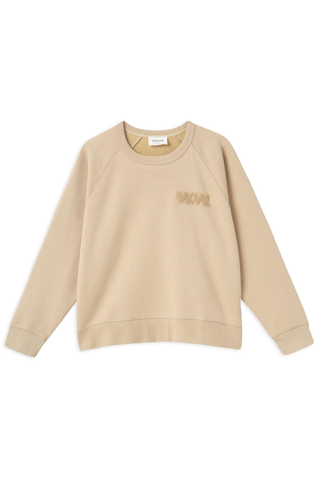 Jerri sweatshirt 11912400-2453, LIGHT KHAKI
