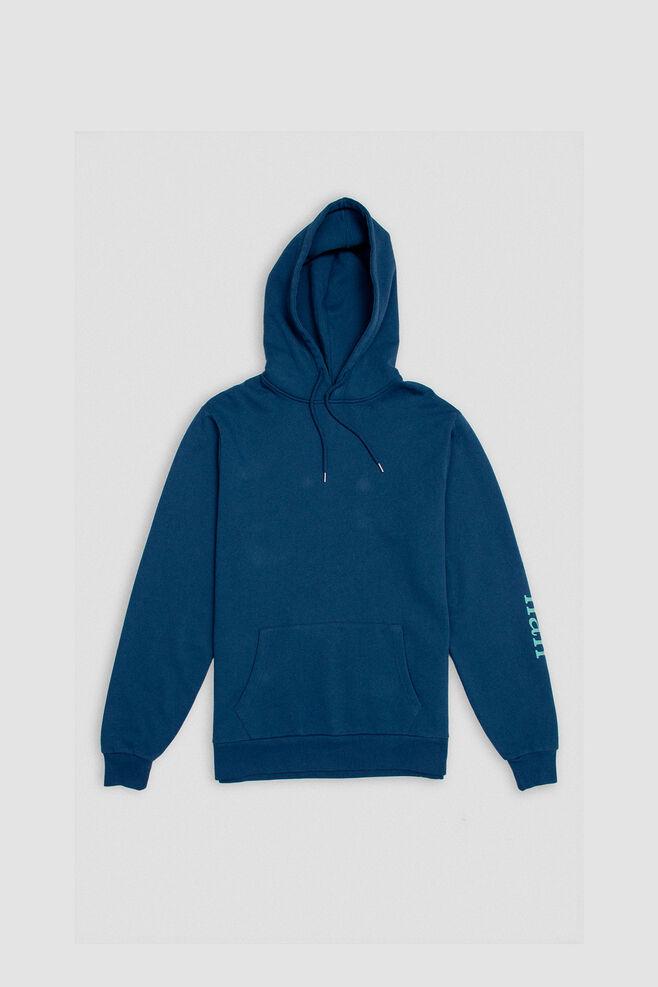 Artwork hoodie M-110109, NAVY