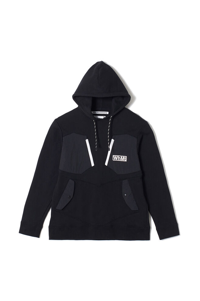 Hooded parka WM1973512, BLACK BLCK