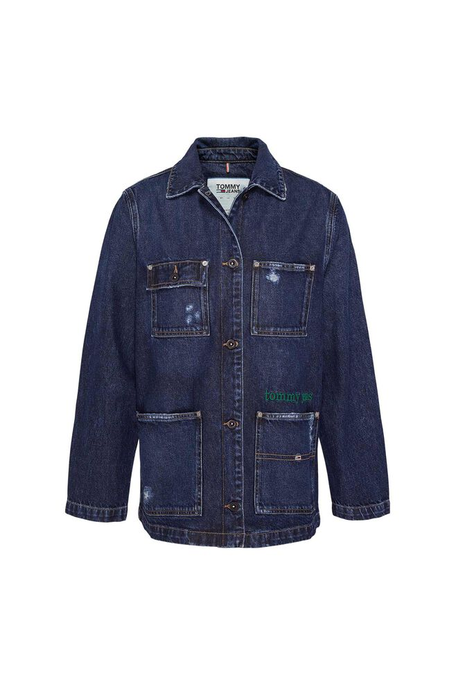 Workwear jacket DW0DW07023, TJ SAVE MID BL RIG