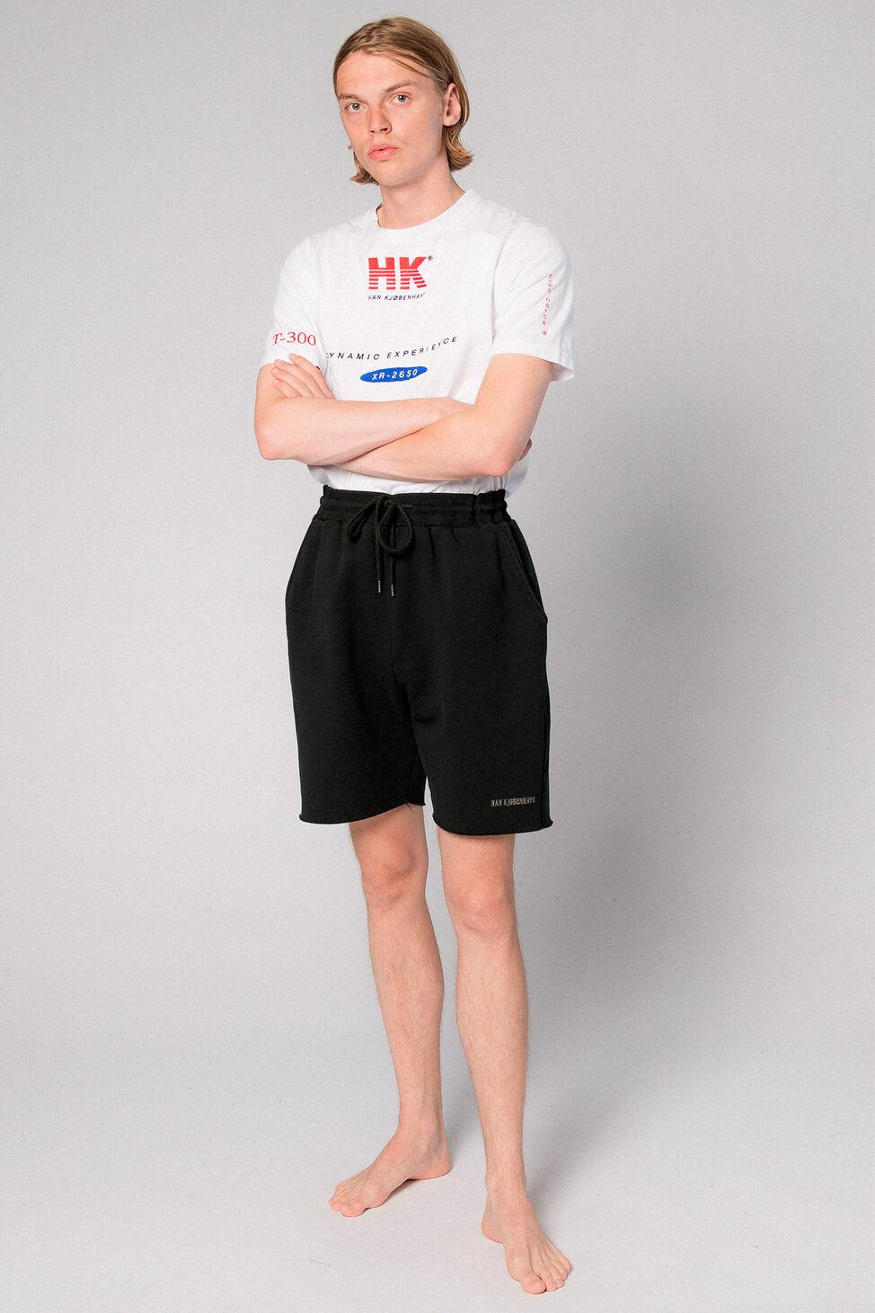 Sweat Shorts M-110071, BLACK