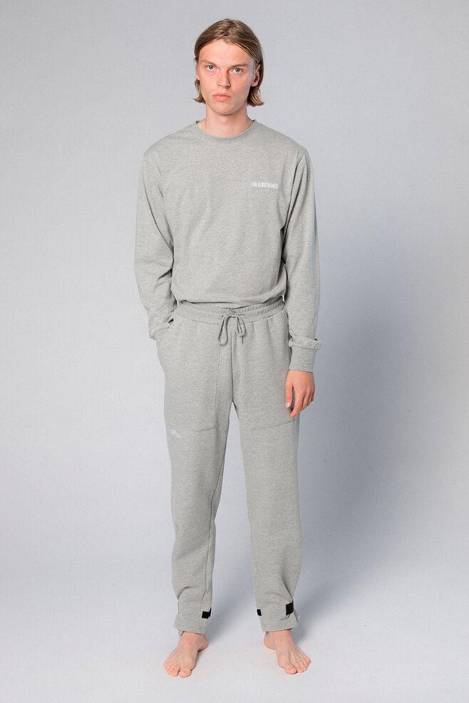 Sweat Pants M-50005, GREY LOGO