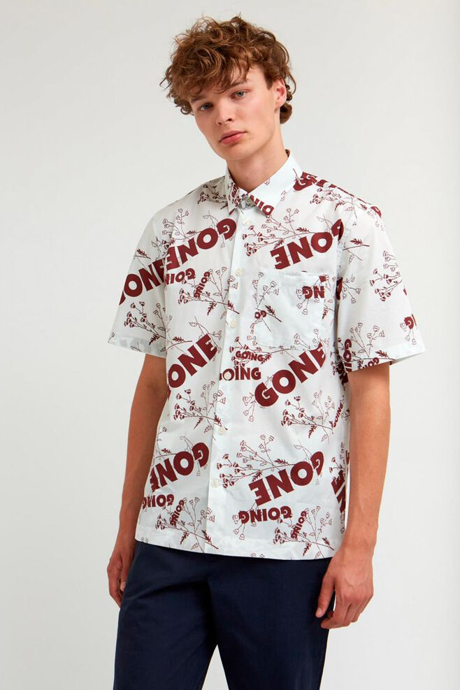 Thor shirt 11915315-1134, FLOWERS OFF-WHITE
