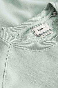 Spruce Sweatshirt 421, SAGE GREEN/RED