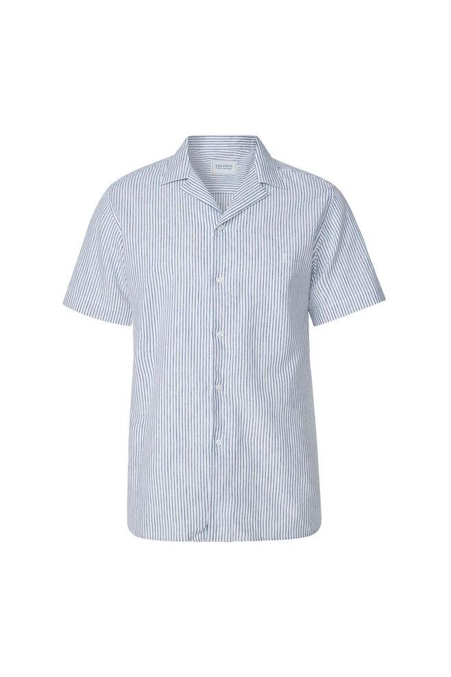 Simon Shirt LDM401006, WHITE/NAVY