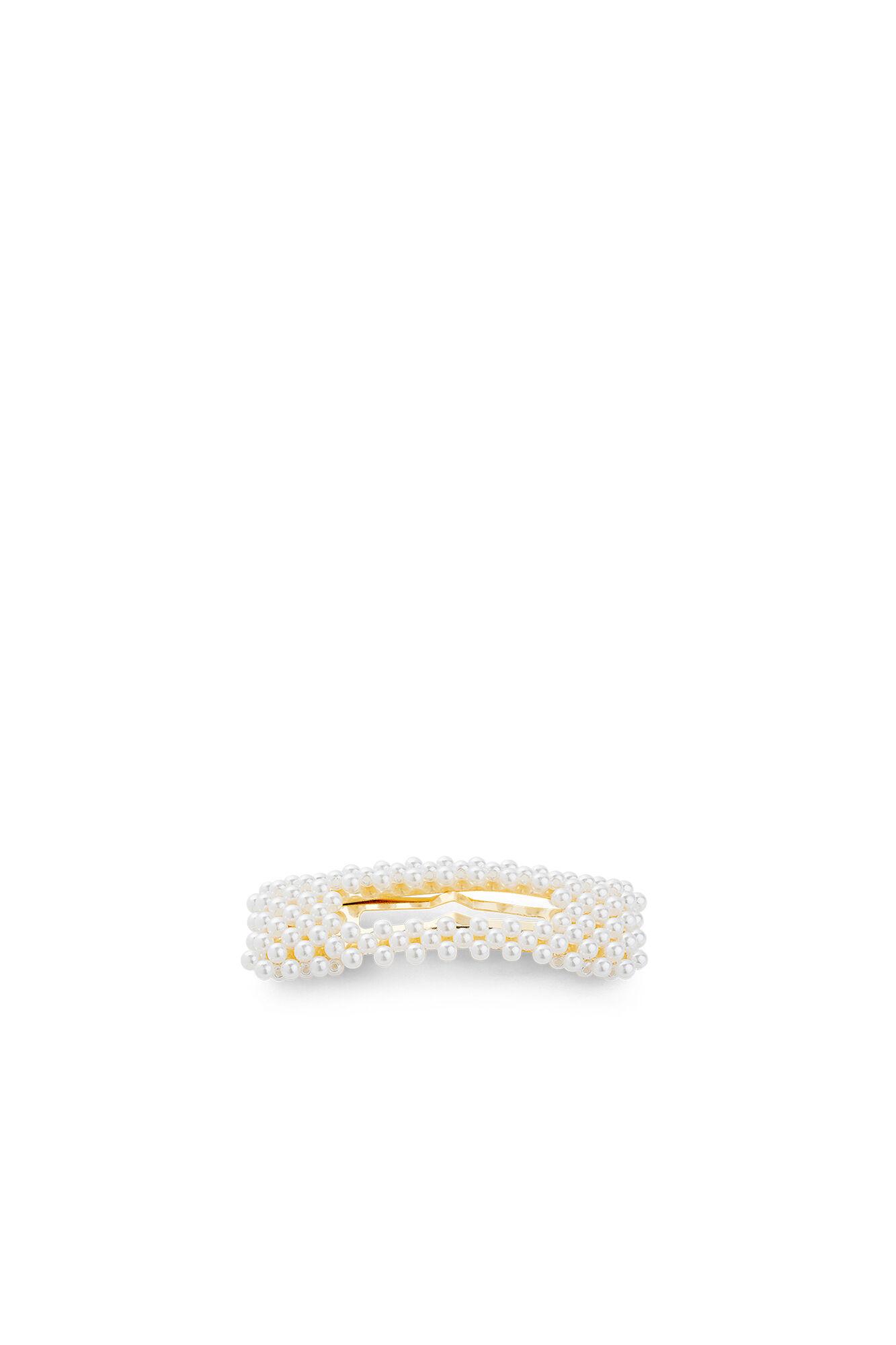 Ingeborg clip, WHITE/GOLD