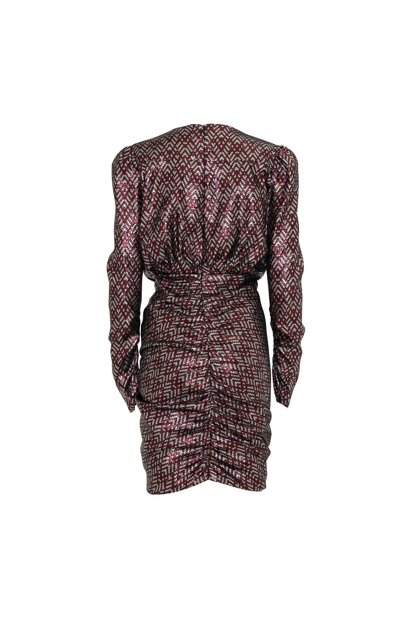 May dress 3366591, SILVER BROKADE