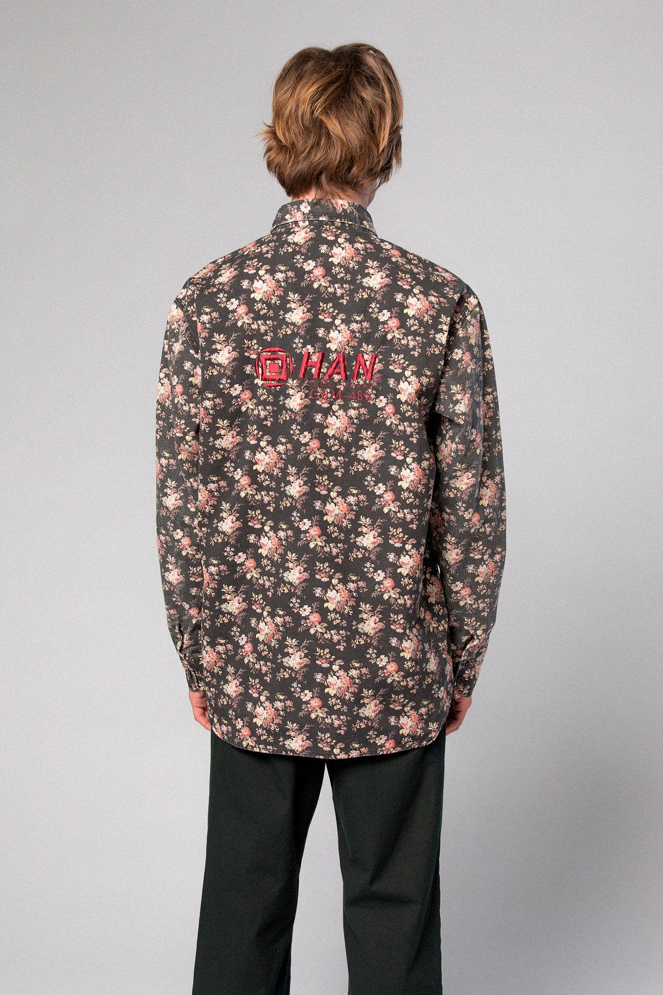 Army Shirt M-110001, FLOWER CANVAS