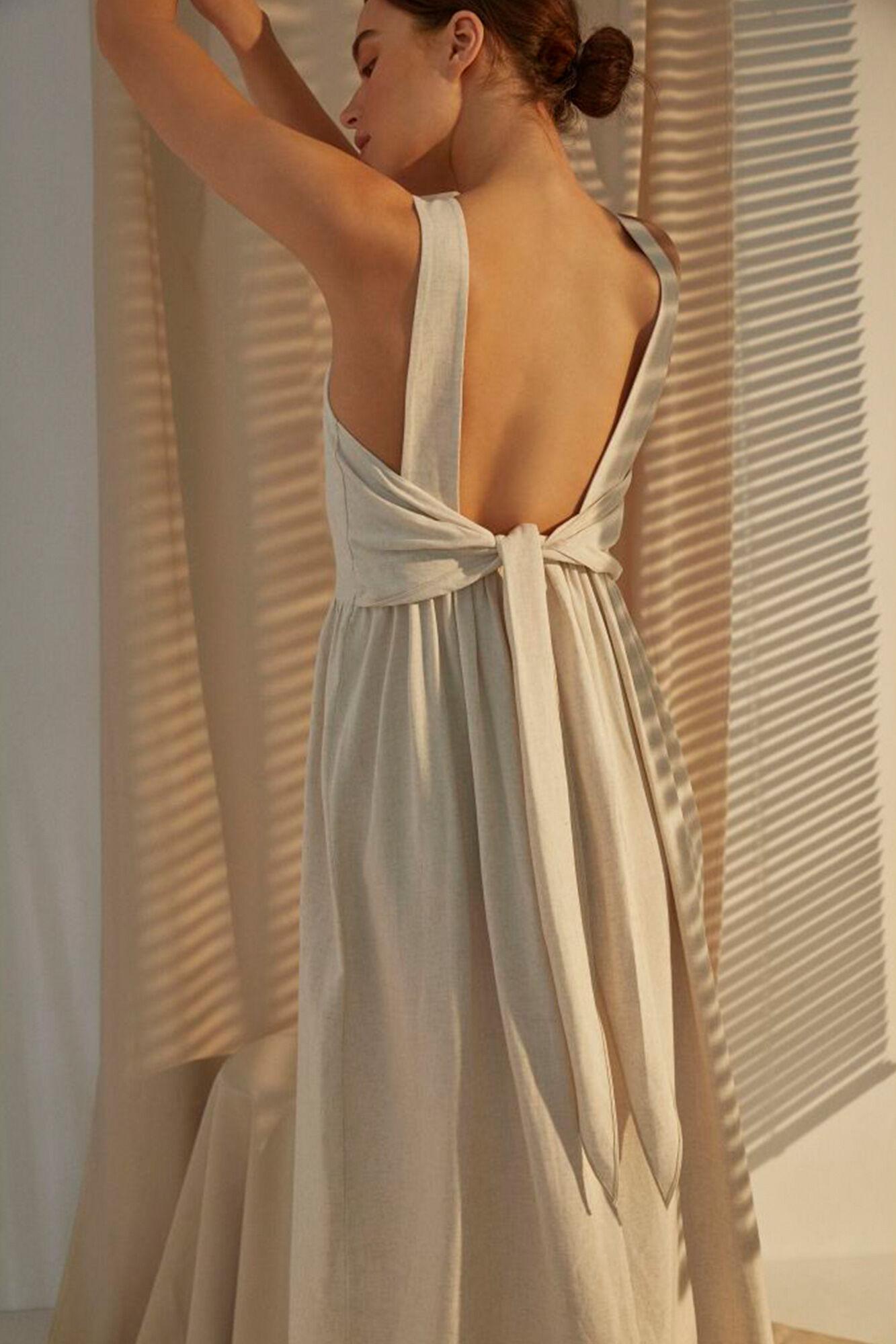 Rosabel dress 11861318, BEIGE