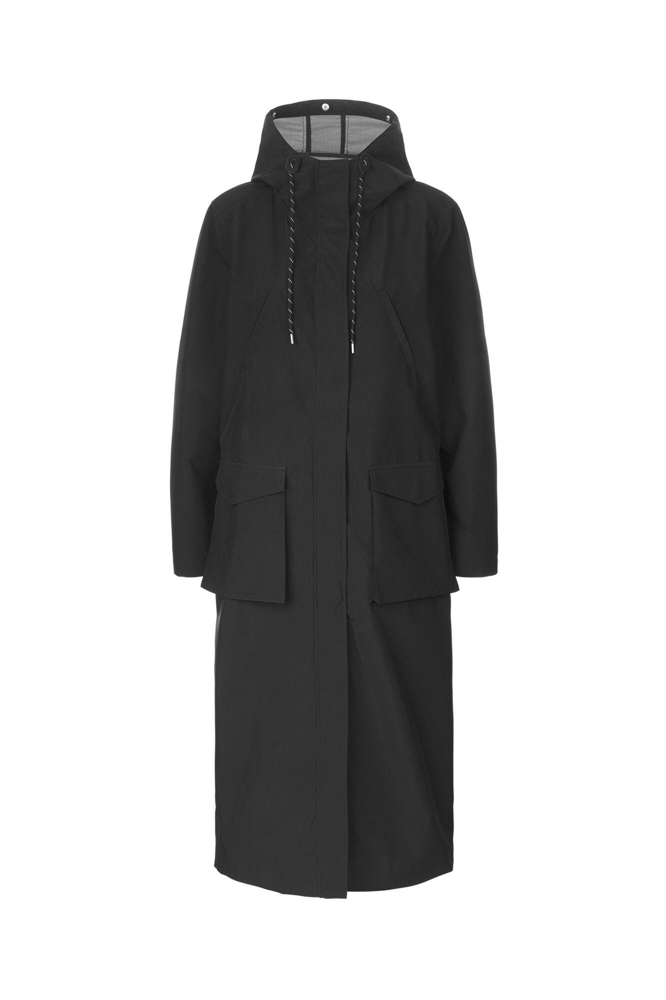 Pelly coat SM1003, BLACK
