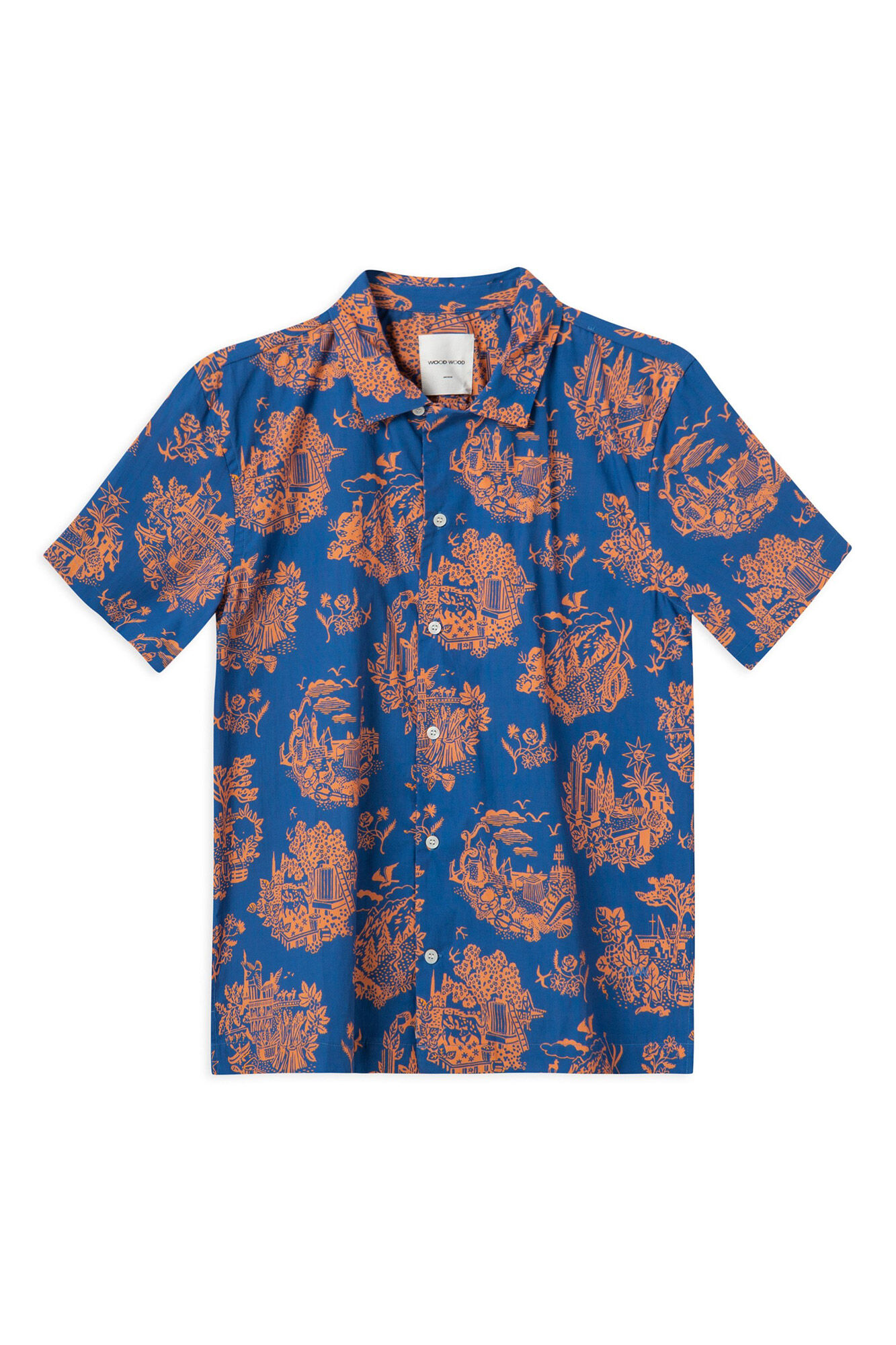 Brandon shirt 11915312-1134, TOURIST BLUE
