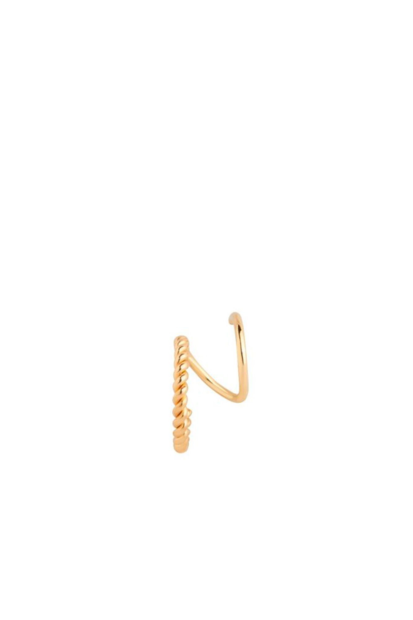 Sofia Twirl Earring Left, GOLD HP