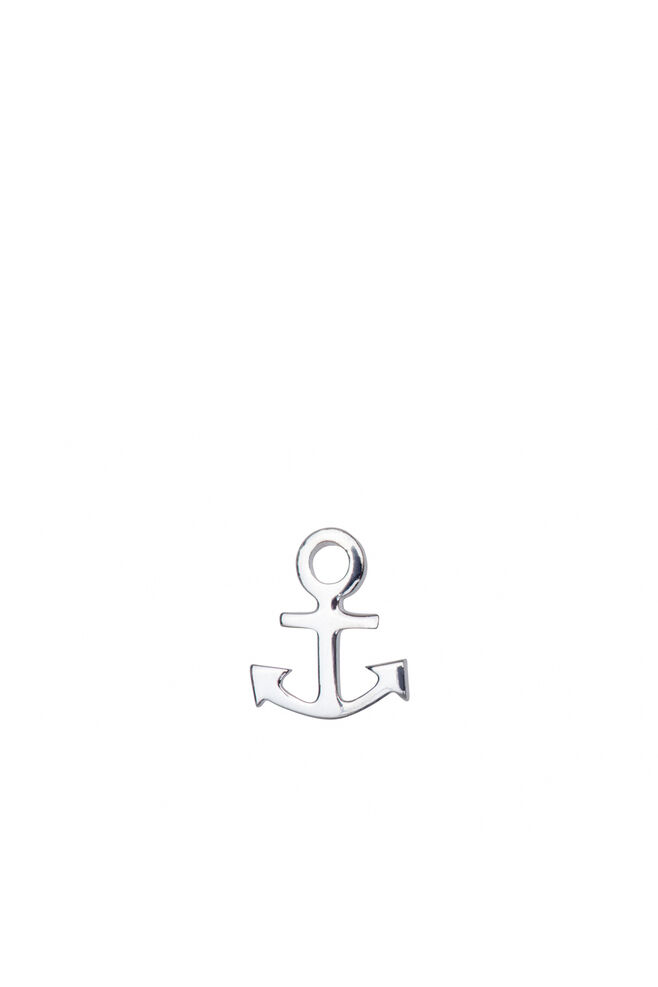 Anchor Ear Stud LULUE101, SILVER
