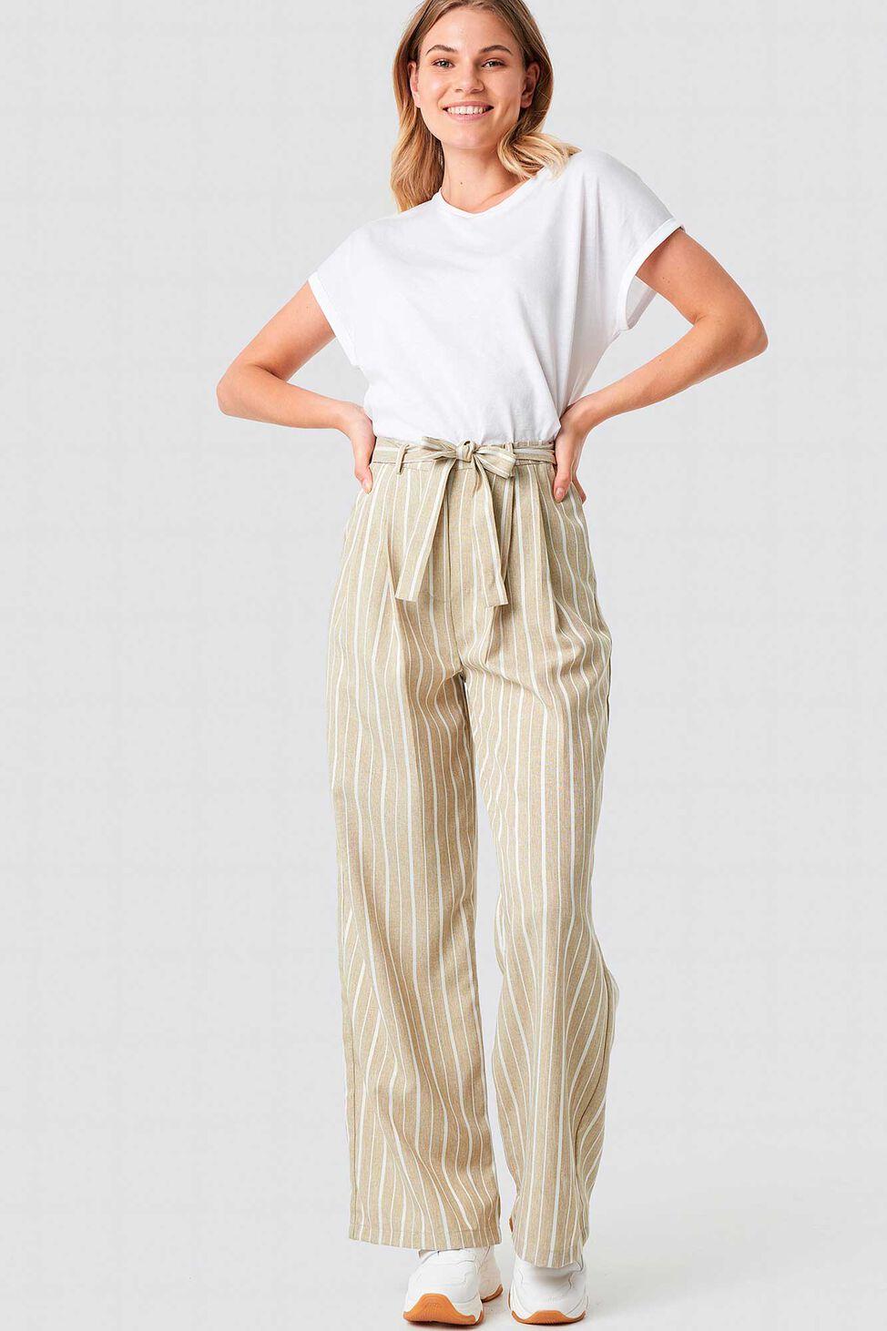 Striped Pant 1100-001181, SAND