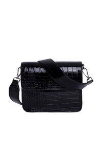 Cayman Shiny Strap H1021, BLACK