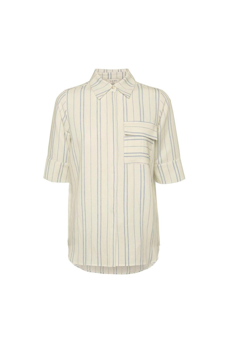 Silverly shirt 11861253, WHITE/BLUE STRIPE