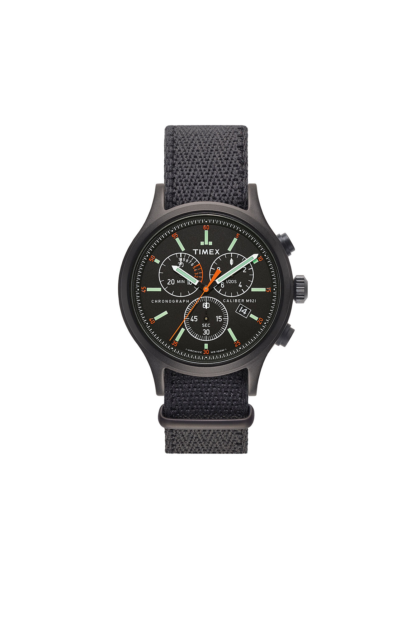 Allied Chrono TW2T43400LG, BLACK/BLACK
