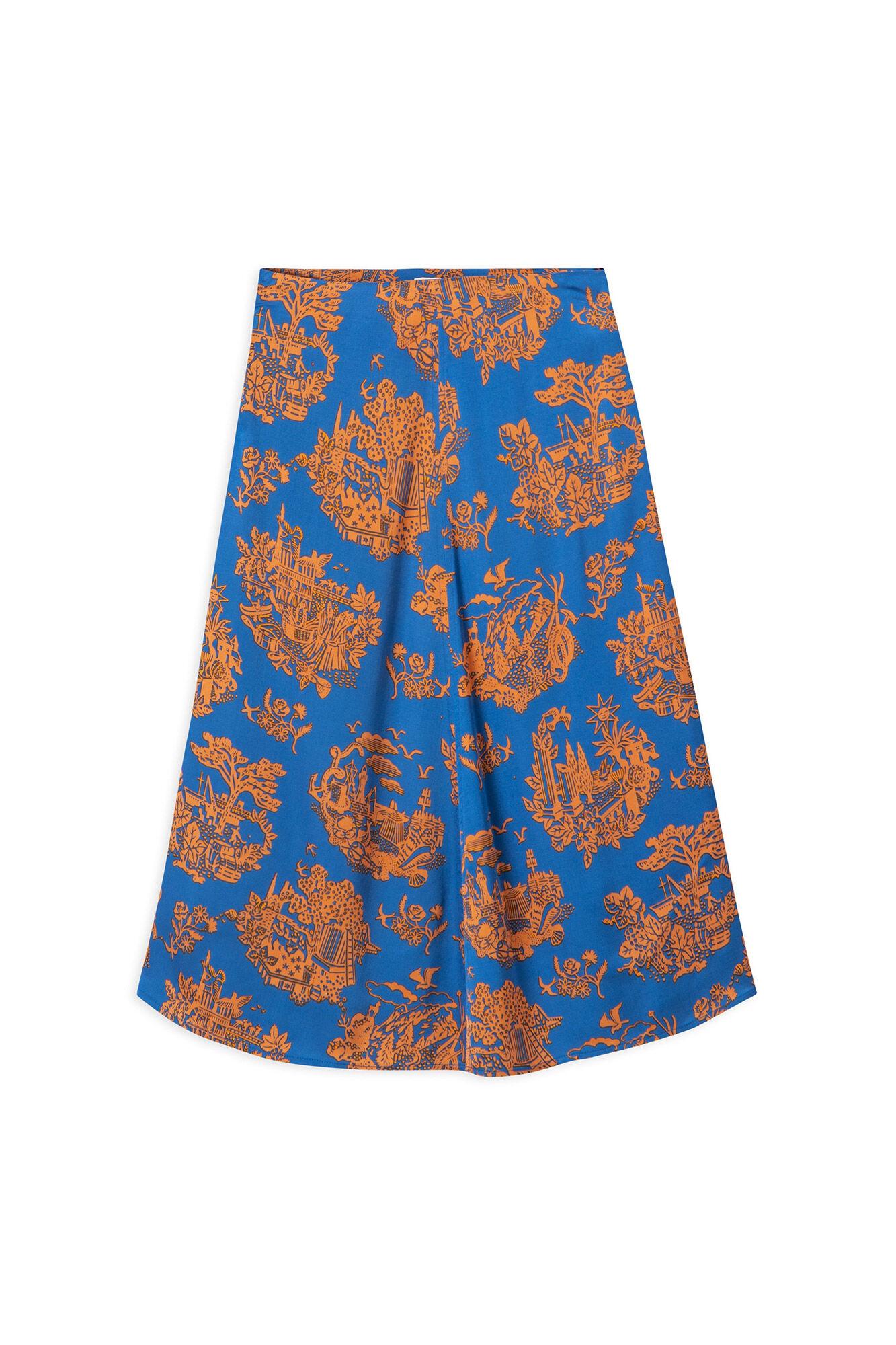Rosemary skirt 11911907-1154, TOURIST BLUE
