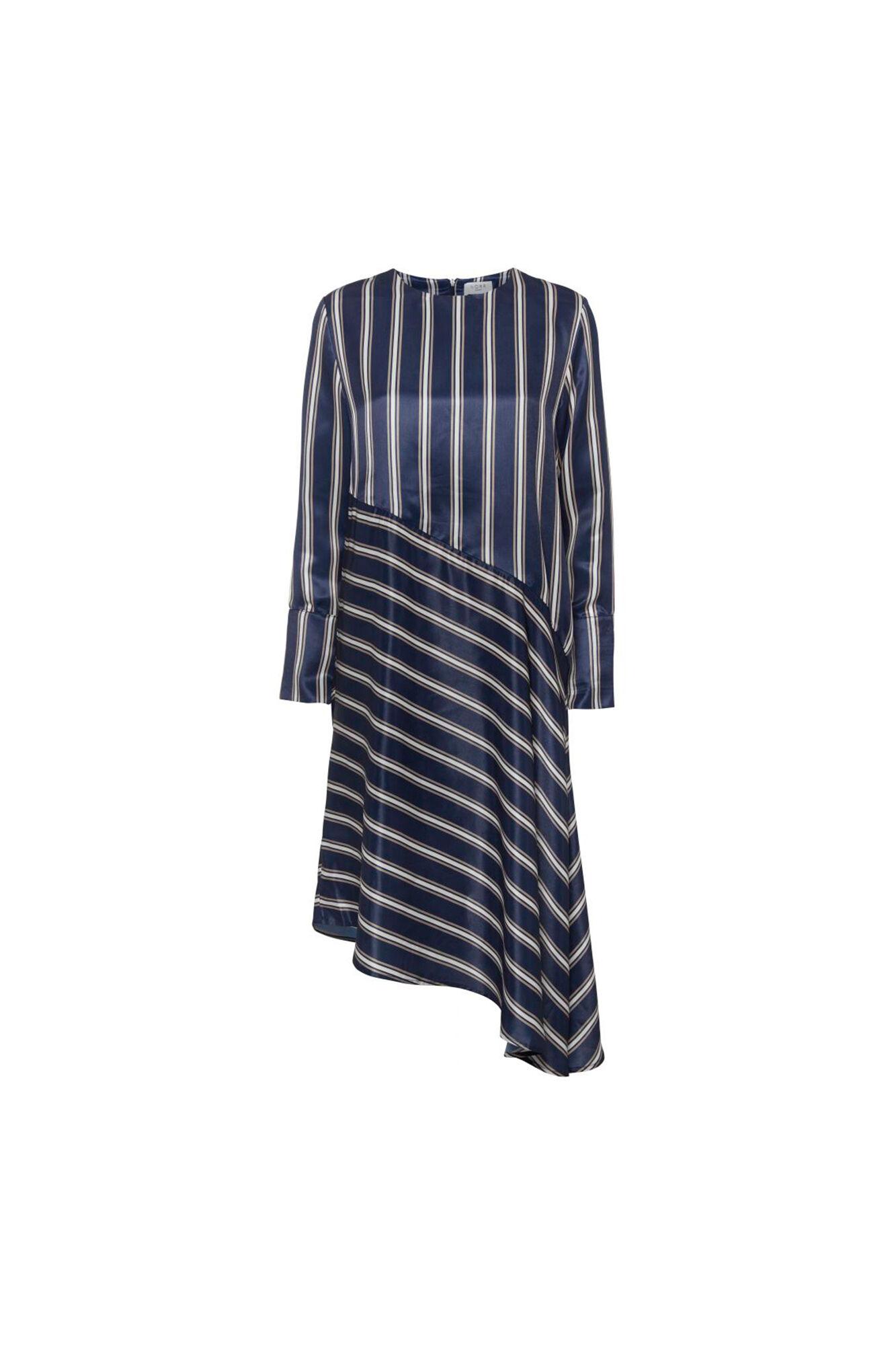 Bobbi Dress 11861110, NAVY STRIPE