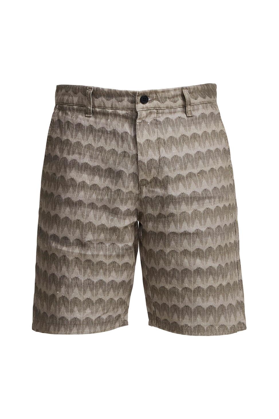 Crown Shorts 1383 1931383132, KHAKI PRINT