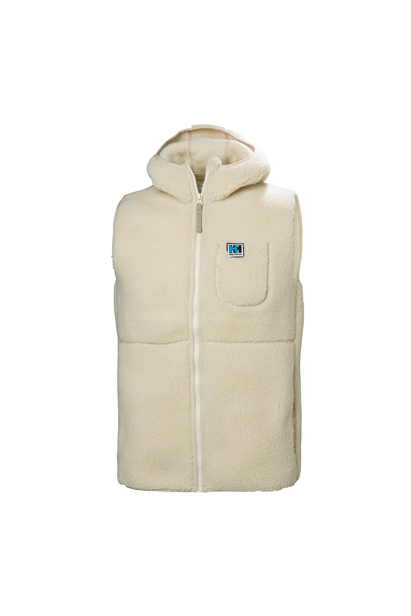 HH pile vest 53288, CREAM