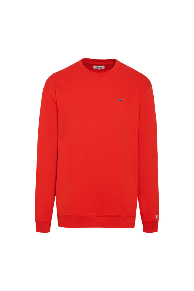 Tommy classics crew DM0DM05496, FLAME SCARLET