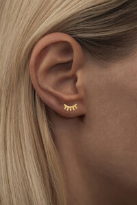 Blink Ear Studs LULUE150, GOLD MATTE
