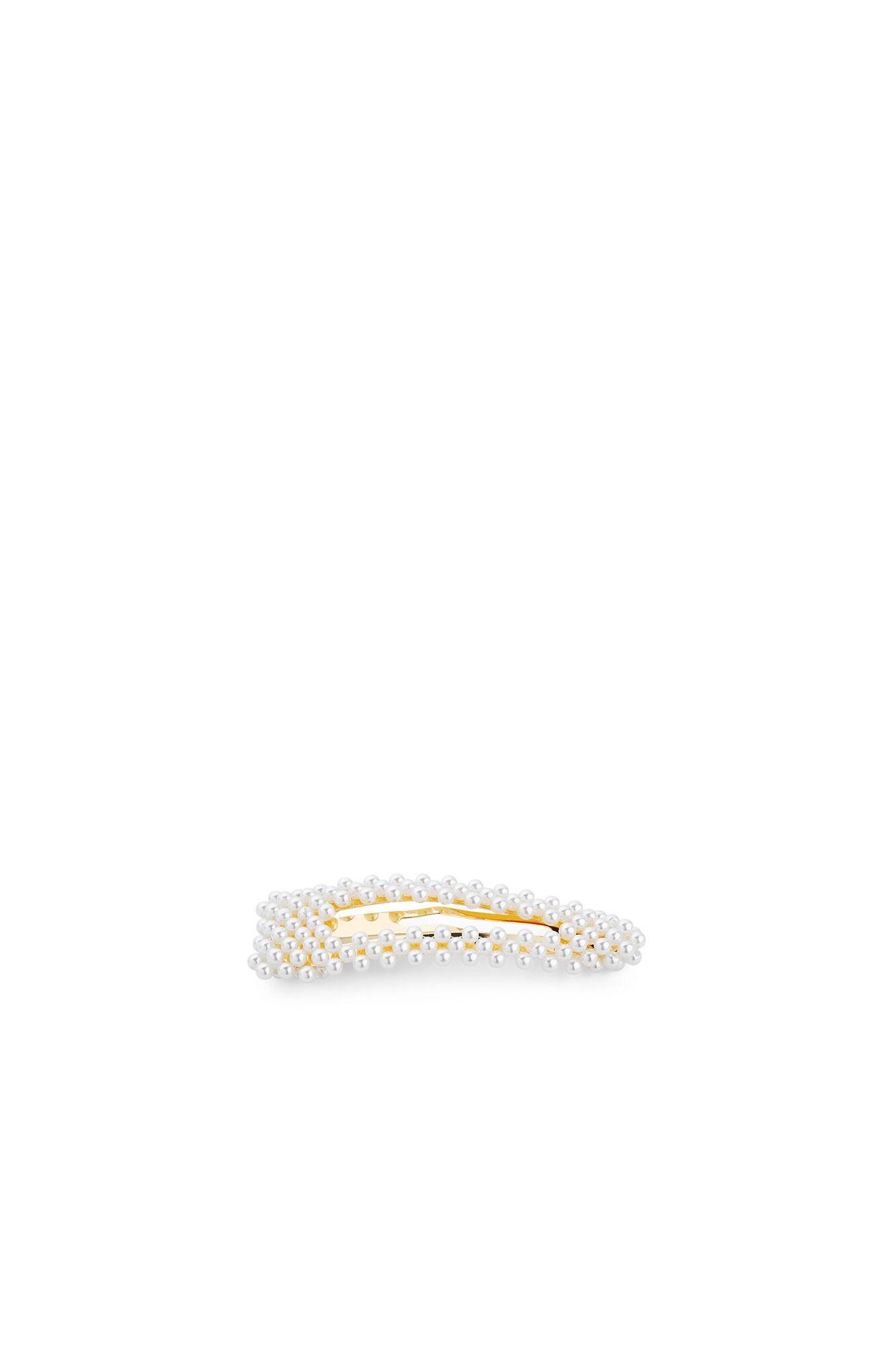 Ingrid clip, WHITE/GOLD